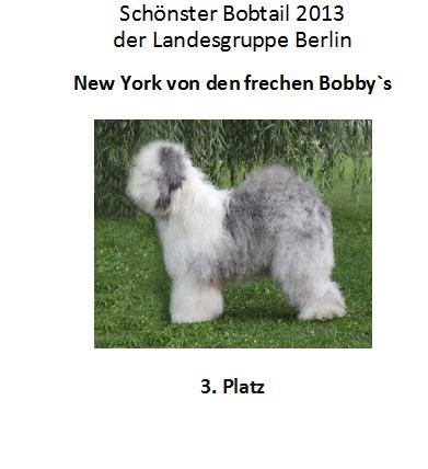 Bobby 3. Platz